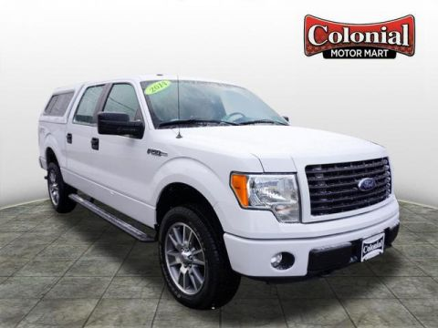 Pre-Owned 2014 Ford F-150 STX 4WD 4x4 STX 4dr SuperCrew Styleside 5.5 ft. SB