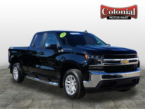 Pre-Owned 2019 Chevrolet Silverado 1500 LT 4WD 4x4 LT 4dr Double Cab 6.6 ft. SB