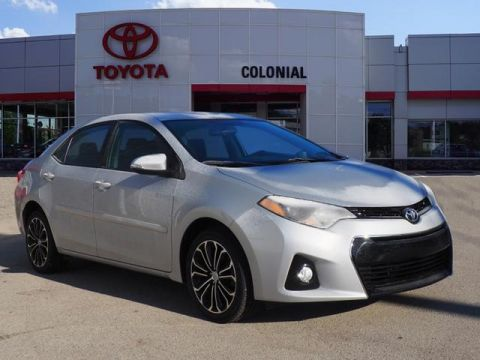 Pre-Owned 2016 Toyota Corolla S FWD S 4dr Sedan