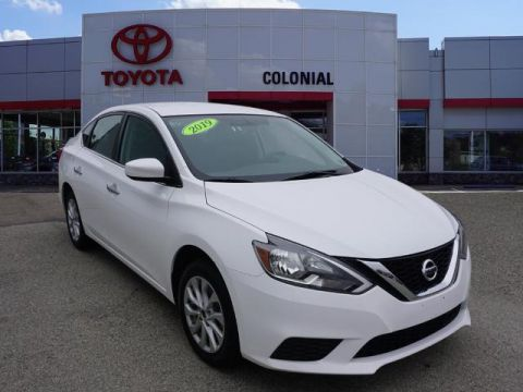 Pre-Owned 2019 Nissan Sentra SV FWD SV 4dr Sedan